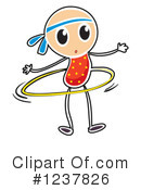 Stick Girl Clipart #1237826 by Graphics RF