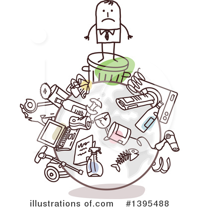 Garbage Clipart #1395488 by NL shop