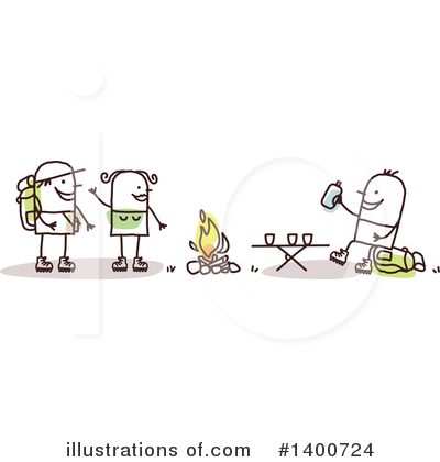 Camping Clipart #1400724 by NL shop