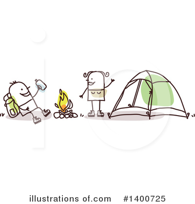 Camping Clipart #1400725 by NL shop