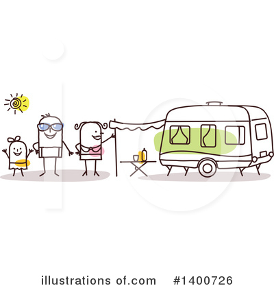 Camping Clipart #1400726 by NL shop