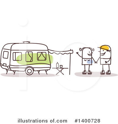 Camping Clipart #1400728 by NL shop