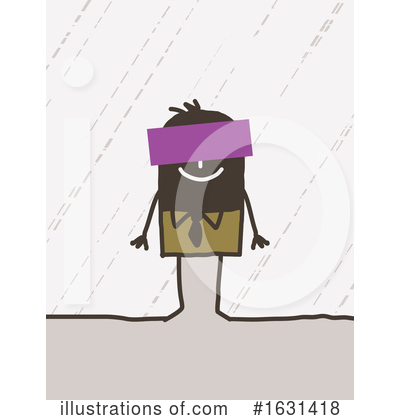 Royalty-Free (RF) Stick Man Clipart Illustration by NL shop - Stock Sample #1631418