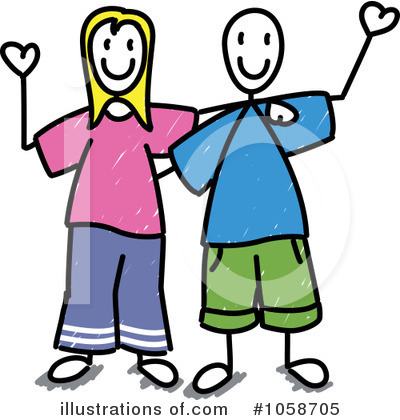 Couple Clipart #1058705 by Frog974