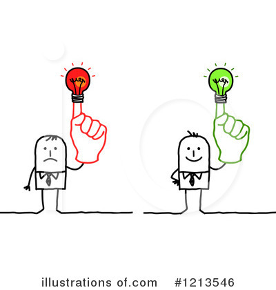 Royalty-Free (RF) Stick People Clipart Illustration by NL shop - Stock Sample #1213546