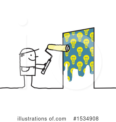 Royalty-Free (RF) Stick People Clipart Illustration by NL shop - Stock Sample #1534908