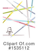 Stick People Clipart #1535112 by NL shop