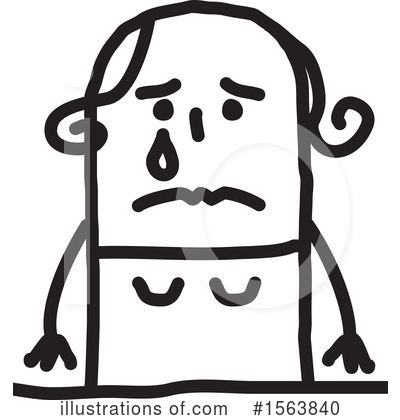 Royalty-Free (RF) Stick People Clipart Illustration by NL shop - Stock Sample #1563840