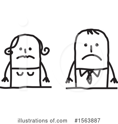 Royalty-Free (RF) Stick People Clipart Illustration by NL shop - Stock Sample #1563887