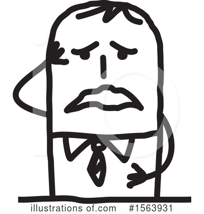 Royalty-Free (RF) Stick People Clipart Illustration by NL shop - Stock Sample #1563931