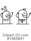 Stick People Clipart #1563941 by NL shop