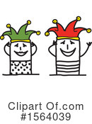 Stick People Clipart #1564039 by NL shop