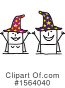Stick People Clipart #1564040 by NL shop