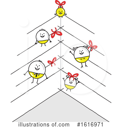 Royalty-Free (RF) Stick People Clipart Illustration by NL shop - Stock Sample #1616971