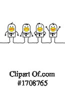 Stick People Clipart #1708765 by NL shop