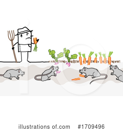Royalty-Free (RF) Stick People Clipart Illustration by NL shop - Stock Sample #1709496