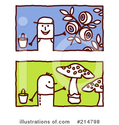 Gardening Clipart #214798 by NL shop
