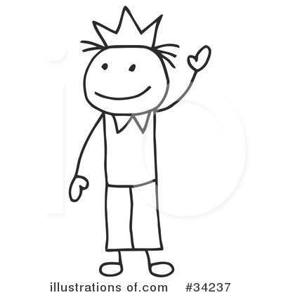 Stick People Clipart #34237 by C Charley-Franzwa