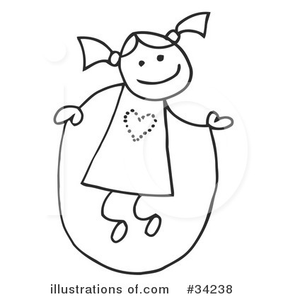 Girl Clipart #34238 by C Charley-Franzwa