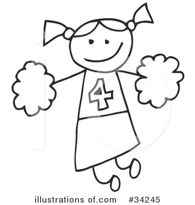 Girl Clipart #34245 by C Charley-Franzwa