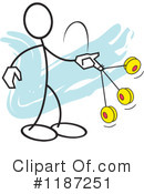 Stickler Clipart #1187251 by Johnny Sajem