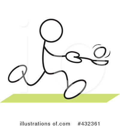 Relay Race Clipart #432361 by Johnny Sajem