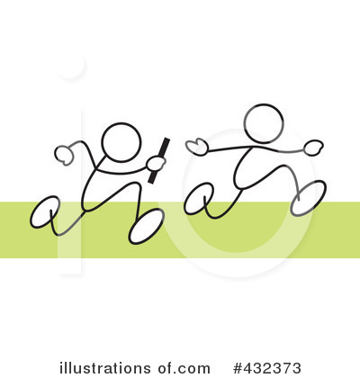 Relay Race Clipart #432373 by Johnny Sajem