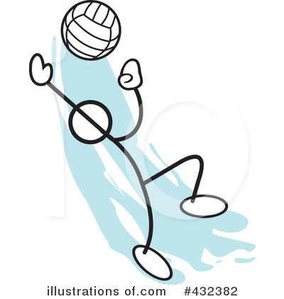 Volleyball Clipart #432382 by Johnny Sajem