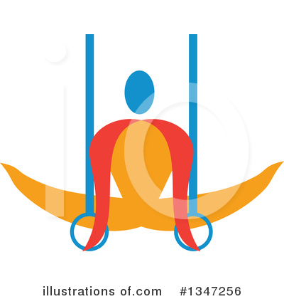Gymnastics Clipart #1347256 by patrimonio
