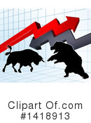 Stock Market Clipart #1418913 by AtStockIllustration