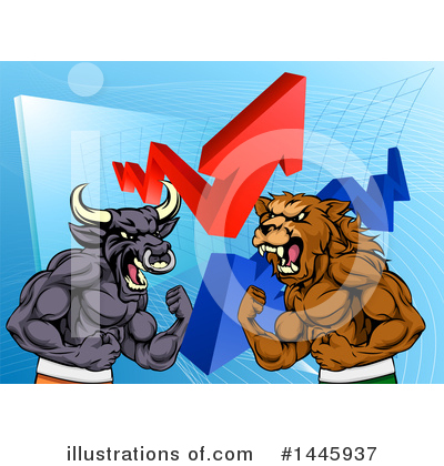Stock Market Clipart #1445937 by AtStockIllustration