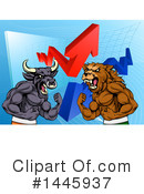 Royalty-Free (RF) Stock Market Clipart Illustration #1445937