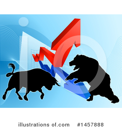 Stock Market Clipart #1457888 by AtStockIllustration