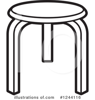 Furniture Clipart #1244116 by Lal Perera