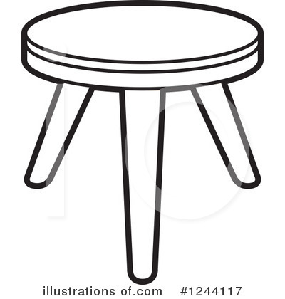Furniture Clipart #1244117 by Lal Perera