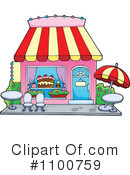 Royalty-Free (RF) Store Clipart Illustration #1100759