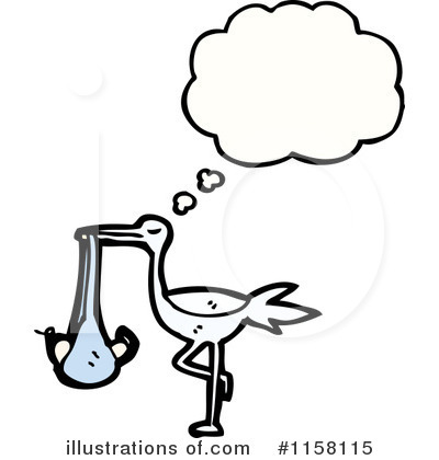 Stork Clipart #1158115 by lineartestpilot