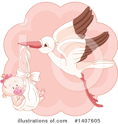 Stork Clipart #1407605 by Pushkin
