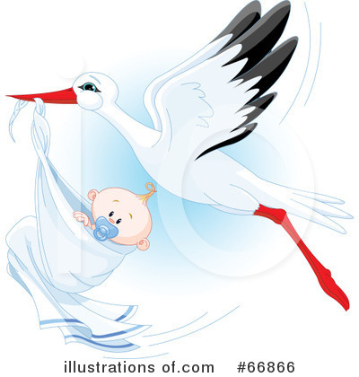 Stork Clipart #66866 by Pushkin