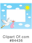 Stork Clipart #84436 by Alex Bannykh