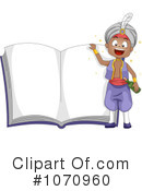 Royalty-Free (RF) Story Book Clipart Illustration #1070960
