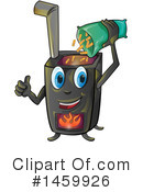 Stove Clipart #1459926 by Domenico Condello