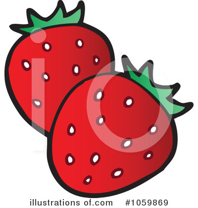 Strawberry Clipart #1059869 by visekart