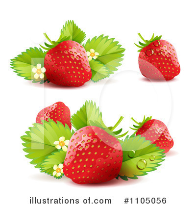Strawberry Clipart #1105056 by merlinul