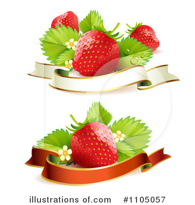 Strawberry Clipart #1105057 by merlinul