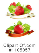 Royalty-Free (RF) Strawberries Clipart Illustration #1105057