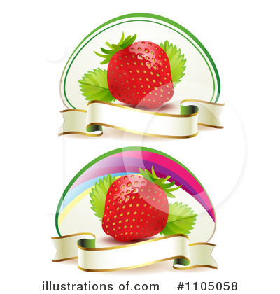 Strawberry Clipart #1105058 by merlinul