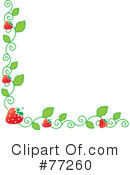 Strawberries Clipart #77260 by Rosie Piter