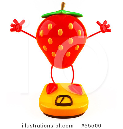Strawberry Clipart #55500 by Julos