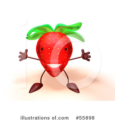 Strawberry Clipart #55898 by Julos